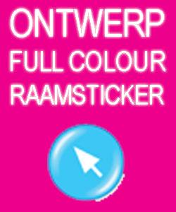 Ontwerp Full Colour Raamfolie