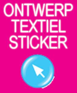 Ontwerp en Bestel Textiel Stickers (Full Colour)