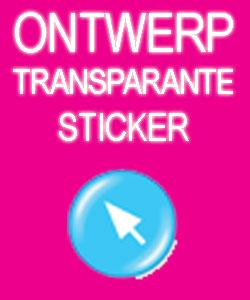Ontwerp en Bestel Transparante Stickers (Full Colour)