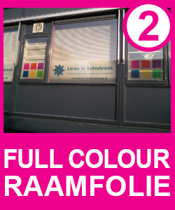 Full Colour Raamfolie