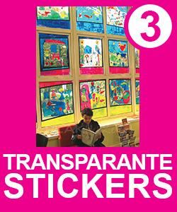 Transparante Raamstickers