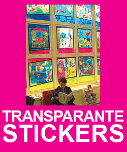 Transparante Stickers