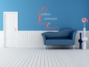 muursticker-home-sweet-home - PLAKhetZelf