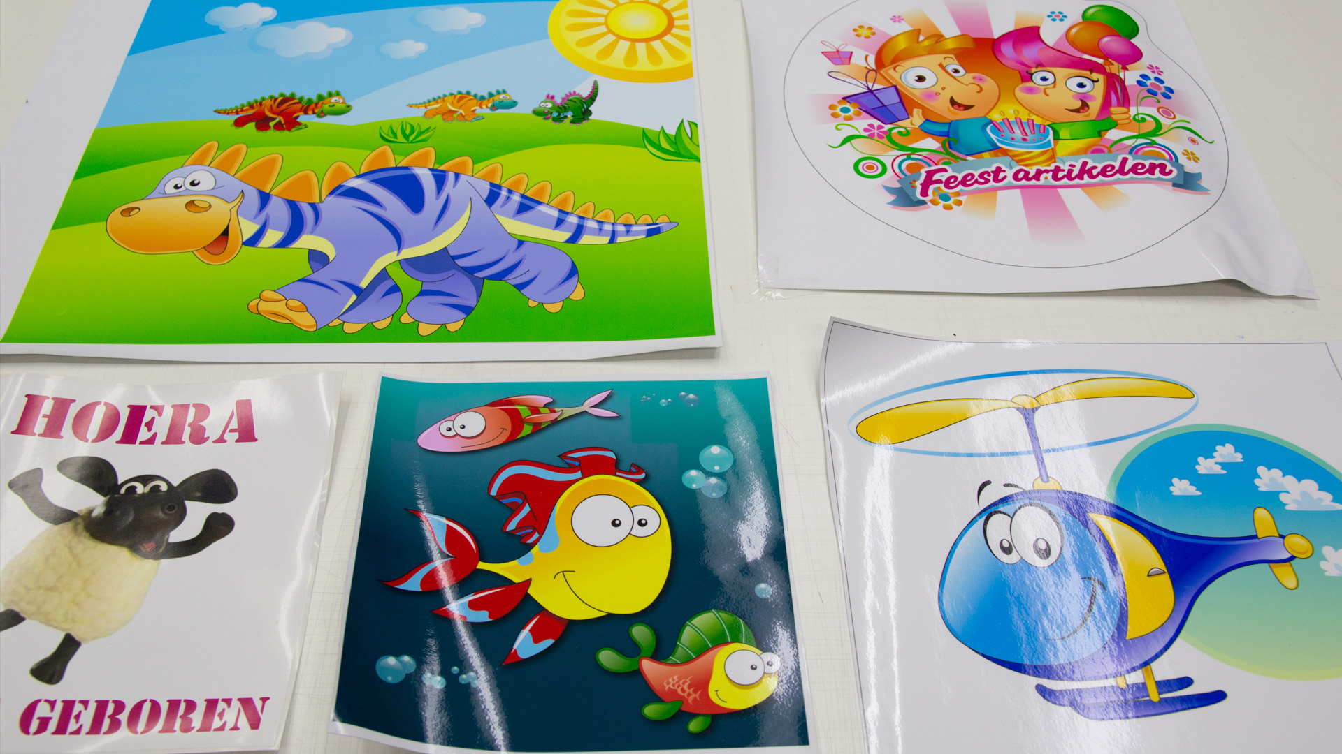 stickers, medium, kinderkamer