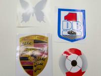 stickers, klein, contour gesneden