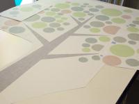 Muursticker (B), boom, groot, eigen ontwerp