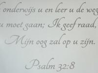 Gesneden muurteksten (1), psalm