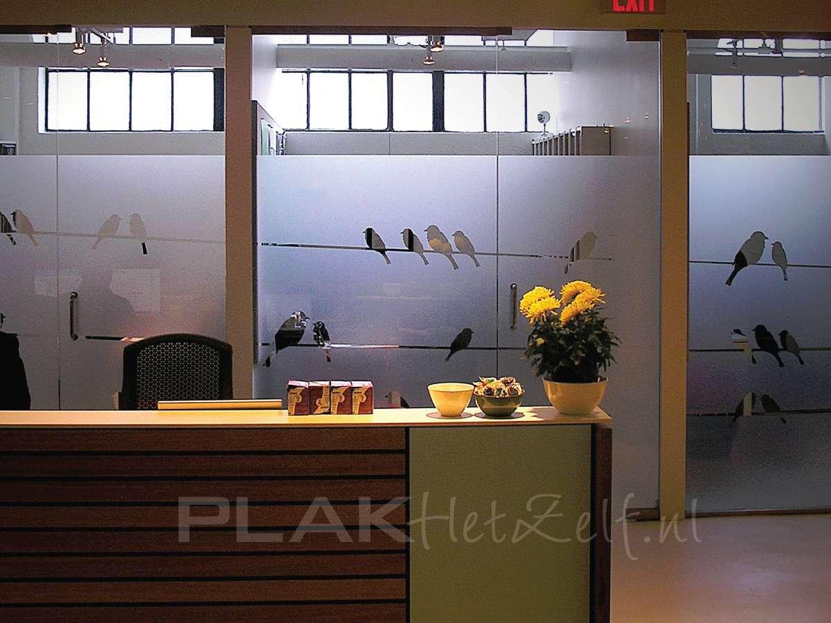 Met een raamsticker glasfolie raamfolie kunt u uw kantoor kamer of quotes - Kamer kantoor ...