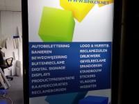 Bedrukte glasfolie (2), logo, bedrijfslogo, huisstijl