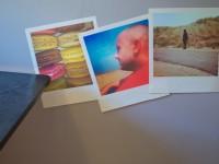 Muursticker removable (A), klein, polaroid, verplaatsbaar, verwijderbaar