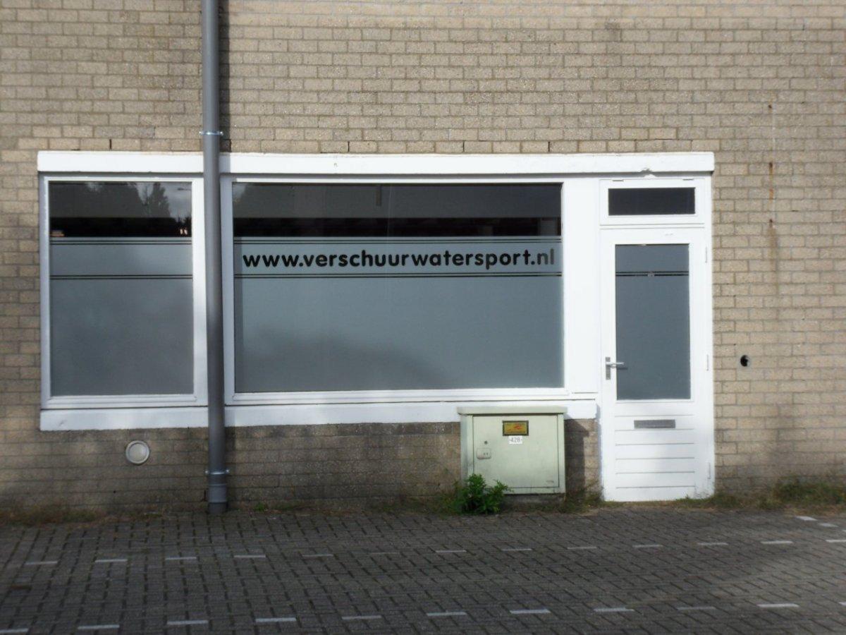 Glasfolie Op Maat Met Eigen Naam En Of Logo