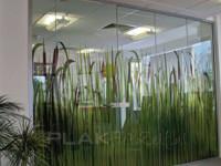 transparante raamfolie, kantoor