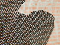 One-way vision raamfolie (7), zwarte achterkant