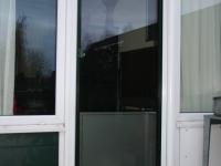 raamfolie deur woonkamer