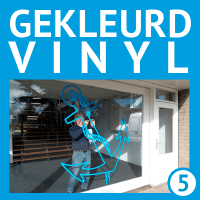 Gekleurd vinyl / plakfolie