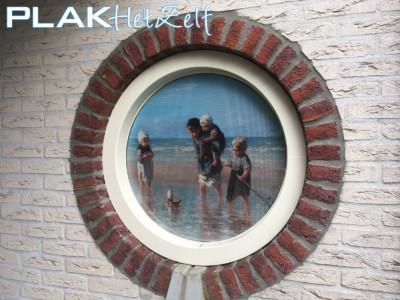 One way vision (7), woonkamer, anti-inkijk, gedeeltelijke privacy