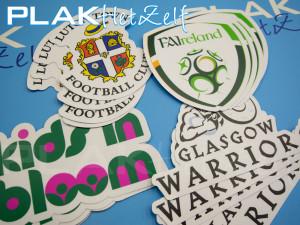 matte stickers, laten printen, mat, S10M