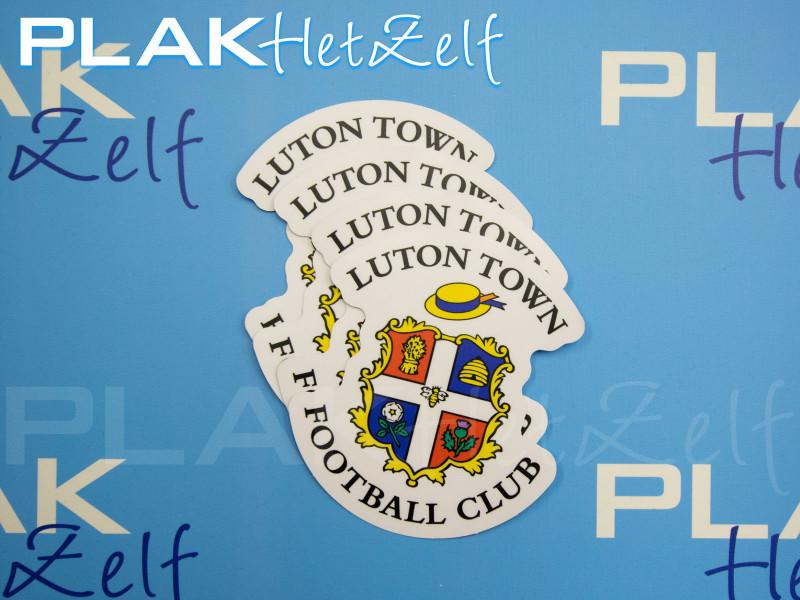 sticker, club, vorm gesneden, complex, logo, mat, S10M