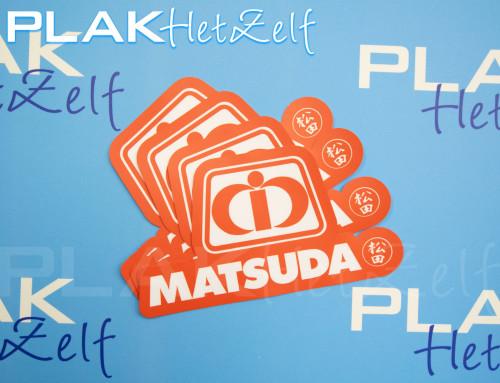 Sticker, laten maken, logo, die cut, complex, mat, S10M