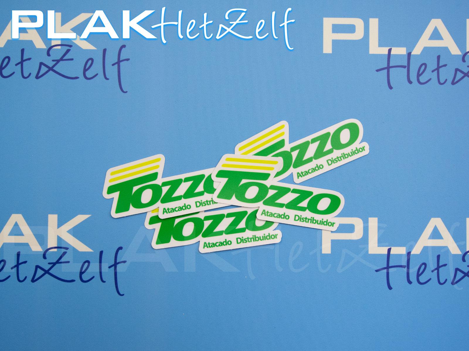 stickers, reclame campagne, logo, mat, S10M, bestellen, laten printen