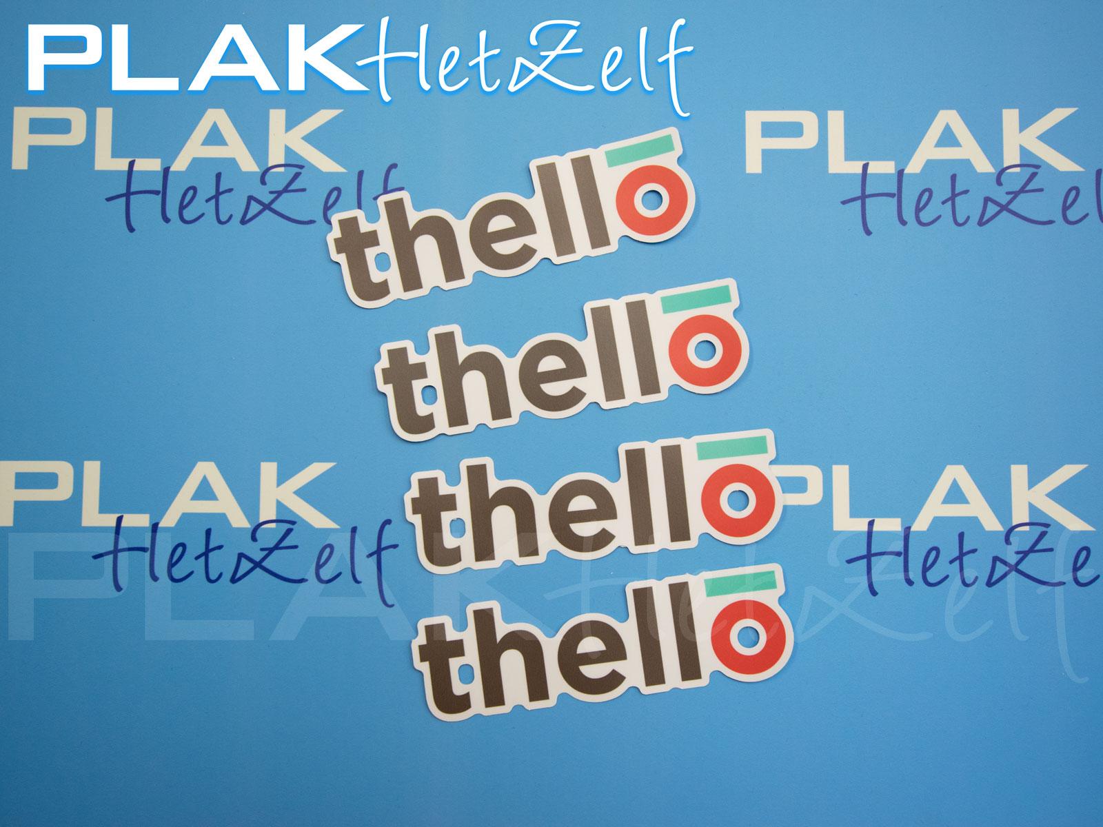 stickers, laten, printen, complex, die-cut, logo, mat, S10M
