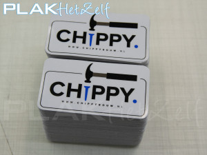 vinyl sticker, laten maken, ronde hoeken, S11G